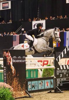 Lillie Keenan and Pumped Up Kicks, National Horse Show 2014. Photo credit to Phelps Sports