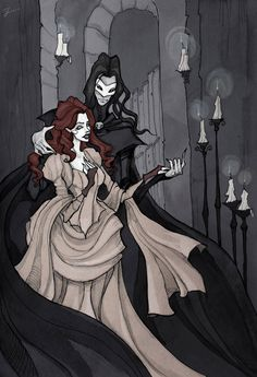 The Phantom of the Opera by IrenHorrors on deviantART
