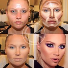 Make-up transformation by Samer Khouzami
