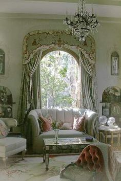 47 French Country Sofa Decoration To Rock This Year - Futuristic Interior Designs Technology Green Rooms, Country Sofas, Living Room Decor Furniture, French Country Living Room Furniture, French Country Bedrooms, Country Living Room Furniture, Sofa Decor, Country Living Room, Victorian Living Room