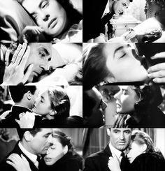 Say it again, it keeps me awake. I love you.  Cary Grant & Ingrid Bergman - Notorious