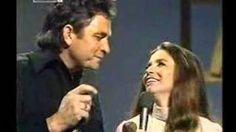 Johnny Cash & June Carter- Help Me Make It Through The Night, via YouTube.