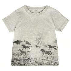 Pour enfants : Stella McCartney T-shirt Arlow Chevaux