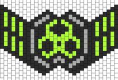 Kandi mask pattern