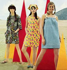 """May 1967. """"Wrap your world in paper."""" Paper dresses.  I actually had one!"""