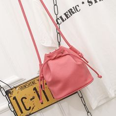 Not Wrong Half Price!!Fashion Women Bucket Bag Candy Color Women Shoulder Bags Quality PU Leather Crossbody Bags Female Handbags