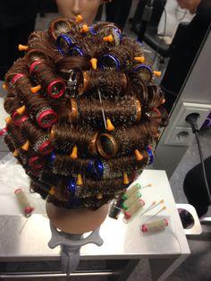 Sleep In Hair Rollers, Curlers, Perm, Dreadlocks, Hair Styles, Beauty, Rollers In Hair, Hair Plait Styles, Hair Makeup