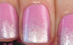 Pink Glitter Gradient