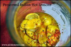 Preserved Indian Hot Lemons