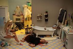 i have a new found love for barbie murder scenes lol