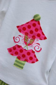Christmas Applique for Tshirt