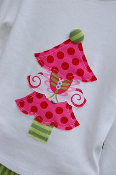 Christmas Applique for Tshirt