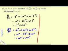 80 best differential equations images on pinterest in 2018 verifying solutions to differential equations differential equations 3 fandeluxe Image collections
