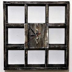 Ceas de Perete din Lemn Masiv CPT1014-50 Divider, Frame, Room, Furniture, Industrial, Home Decor, Picture Frame, Bedroom, Decoration Home