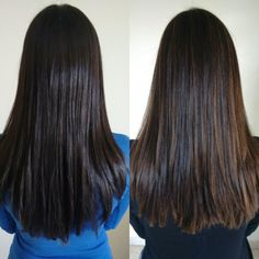 Antes e depois Sombré Hair cabelo Laiane Caio. #sombrehair #cabelospretos #dark
