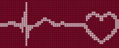 Alpha Friendship Bracelet Pattern #5716