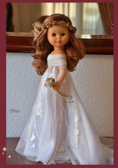 Pretty Dolls, American Girl, Marie, Doll Clothes, Flower Girl Dresses, Glamour, Antiques, Wedding Dresses, Vintage
