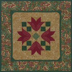 Prairie Points, Quilts, Rugs, Home Decor, Farmhouse Rugs, Decoration Home, Room Decor, Quilt Sets, Log Cabin Quilts