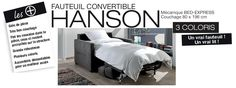 Fauteuil BED-EXPRESS HANSON bed express