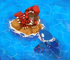 Groudon and Kyogre~