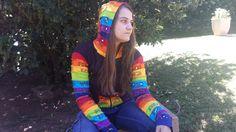 Our rainbow hoodie is back :) #himalayahandmades #hippy #bohemian