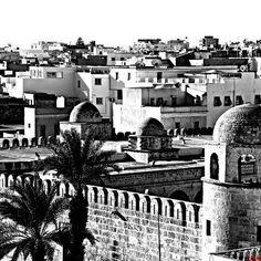 #sousse #medina #mosque #photography #blackandwhite