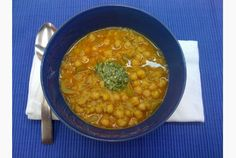 Once you stir the dollop of basil pesto into this chickpea stew, you'll have a memorable meal.