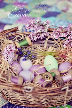 Easter.  nelly vintage home