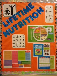 Lifetime Nutrition@HFHS: Bulletin board for course...