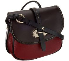 Dooney & Bourke Verona Leather Cristina Crossbody Bag