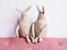 Ručne robený zajačikovia.