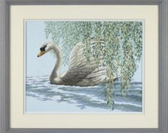 Cross Stitch Kit - WILLOW SWAN - Dimensions Counted Cross Stitch Needlework Kit