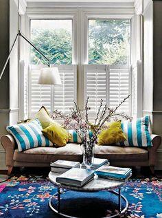 Spring living room - Daily Dream Decor