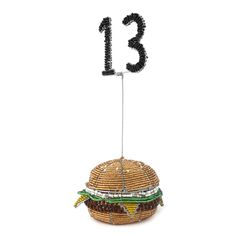 Burger Themed Table Number | Stribal CafeStribal Cafe