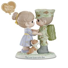 Precious Moments My Love Goes With You Figurine