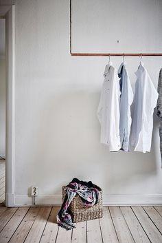 D jak DESIGN-dom, wnętrze, lifestyle Walk In Wardrobe, Wardrobe Rack, Sweet Home, Dressing, Interior, Furniture, Home Decor, Copper, Lifestyle
