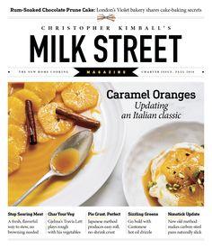 Milk Street magazine - Charter Issue Fall 2016