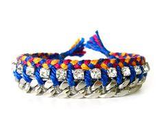 Bold Chain Friendship Bracelet by chaikim Uncovet