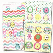 Easter Printable Party #freeprintables #easter #ishareprintables