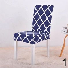 Floral Print Chair Cover Home Dining Elastic Chair Covers Multifunctional Spandex Elastic Cloth Universal Stretch 1 Piece Dining Chair Covers, Dining Chair Slipcovers, Couch Covers, Furniture Covers, Kitchen Table Chairs, Dining Chairs, Dining Room, Room Kitchen, Party Chairs