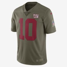78d3883dd NFL Giants Limited STS (Eli Manning) Men s Football Jersey Odell Beckham  Jr