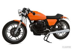 Ellaspede » Moto Guzzi V50 - Bikers Cafe