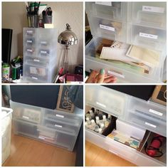 Check out Kupol boxes next time I'm at IKEA (from Studio Calico website)