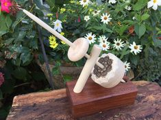 Mother Marion Spinning Wheel or Kick by HeavenlyHandspinning