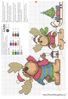 ru / Photo # 7 - Christmas embroidery small x - anapa-mama Xmas Cross Stitch, Cross Stitch Love, Cross Stitch Charts, Cross Stitch Designs, Cross Stitching, Cross Stitch Embroidery, Cross Stitch Patterns, Theme Noel, Christmas Embroidery