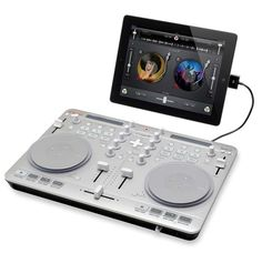 Vestax Spin2 DJ Controller for iPhone, iPad and Mac [video]