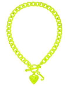 Neon Starter Necklace. #GetYourNeon   http://www.juicycouture.com/Neon-Starter-Necklace/YJRU5731,default,pd.html?dwvar_YJRU5731_color=735=1=neon=search