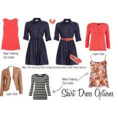 Shirt Dress Options