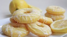 Baked Lemon Donuts 3 Smartpoints | Weight Watchers Recipes