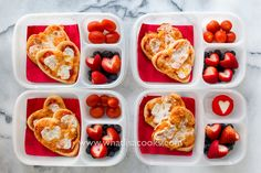 Easy Valentine Lunch from WhatLisaCooks.com